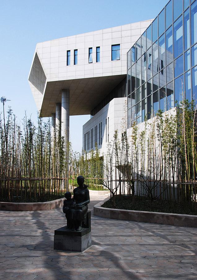 苏州张家港文化中心 (1)
