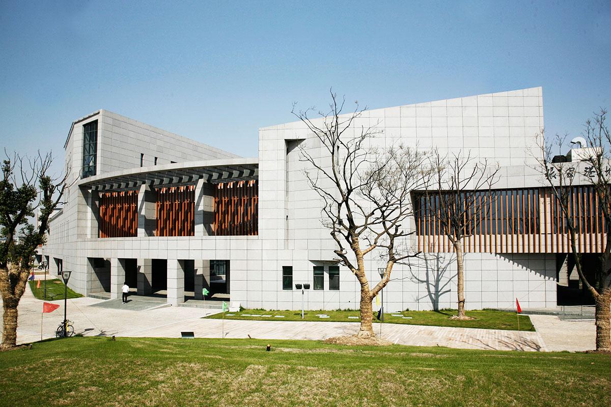苏州张家港文化中心 (4)