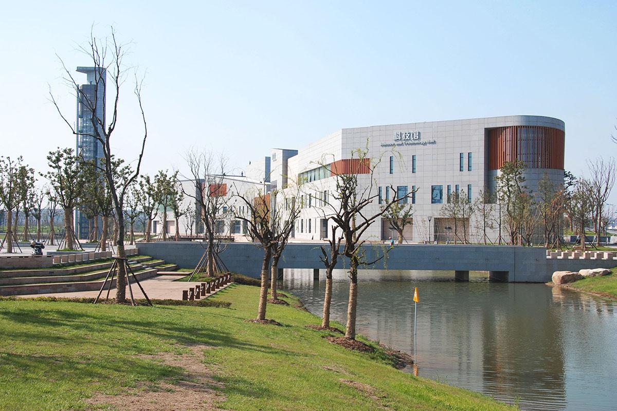 苏州张家港文化中心 (3)