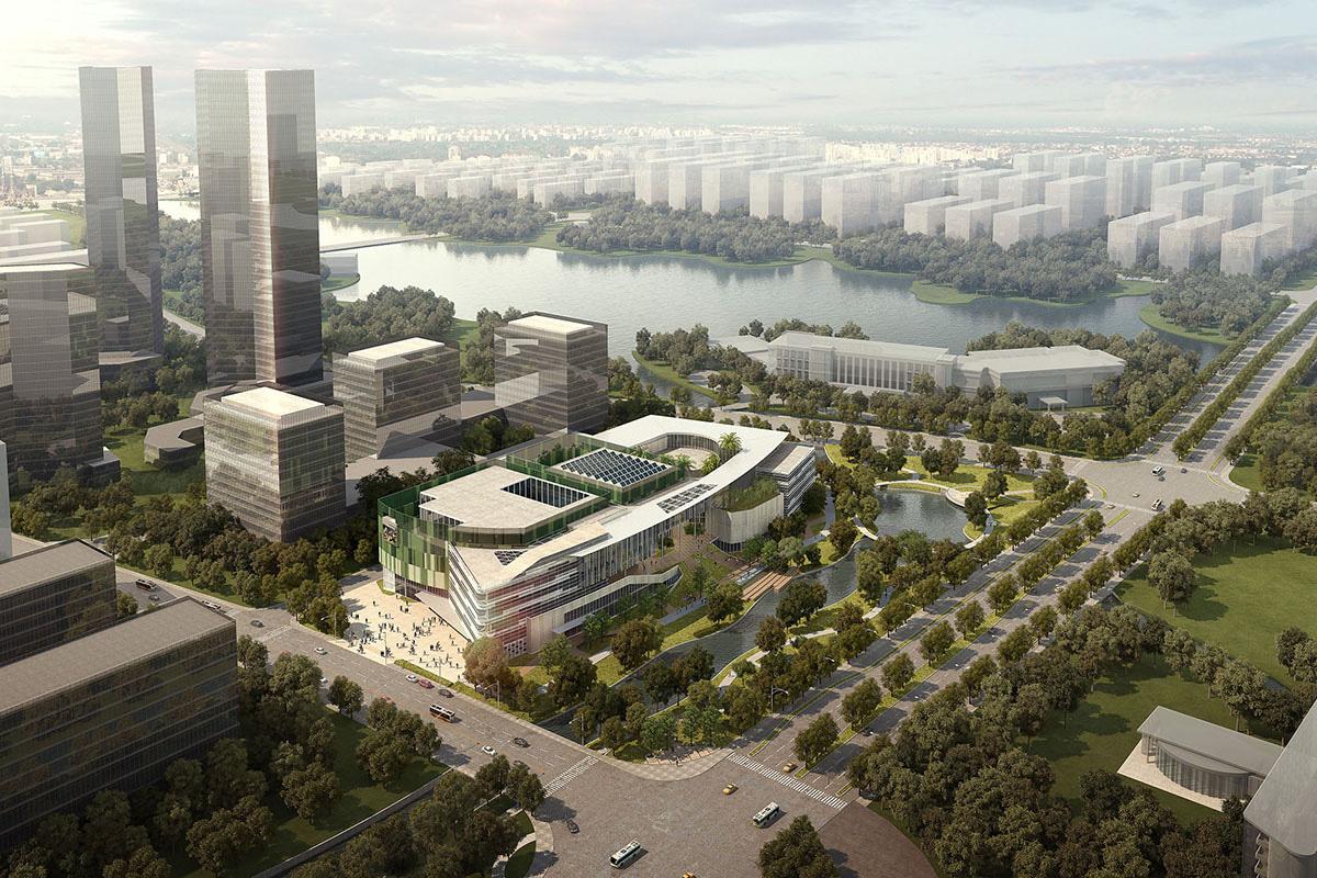 苏州张家港文体中心 (1)